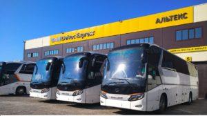 Автобусы Кинг лонг, пассажирские перевозки автобусами